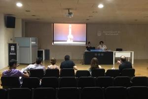 Auditorio Centro Social Polivalente con el V Certamen de Teatre Amateur