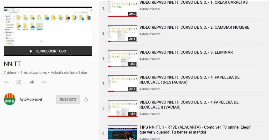 canal youtube NNTT