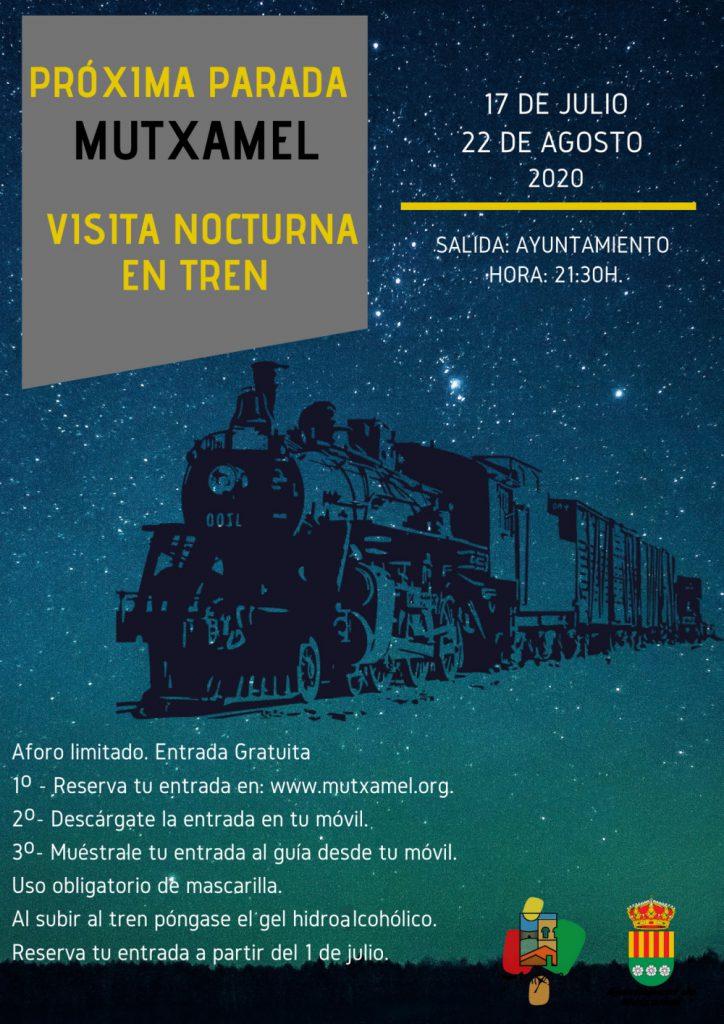 visita en tren noctura guiada 2020