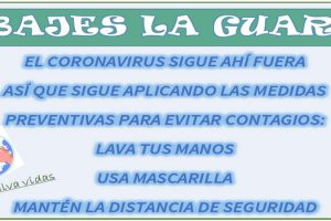 no bajes guardia