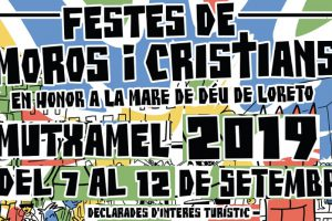 baner fiestas moros y cristianos 2019