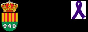 Logo con crespon morado